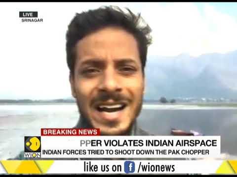 Pakistani Chopper violates Indian Airspace