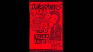 Ignorantes - Demo Buena Onda (2016)