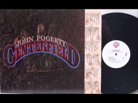 THE OLD MAN DOWN THE ROAD , JOHN FOGERTY , 1985 VINYL LP