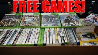 NEVER PAY FOR VIDEO GAMES! GameStop Dumpster Diving Video Game Collection! (Xbox, PlayStation)