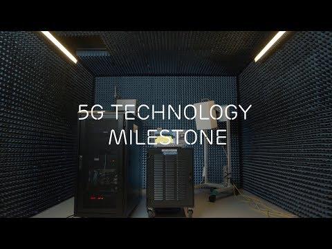 5G technology milestone – showcasing 5G NR interoperability