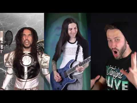 Mighty Morphin Power Rangers Meets Metal (2017) w/ Jonathan Young and Anthony Vincent