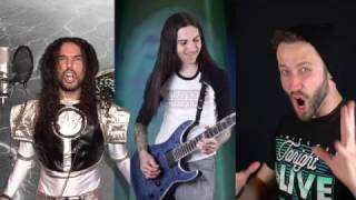 Repeat youtube video Mighty Morphin Power Rangers Meets Metal (2017) w/ Jonathan Young and Anthony Vincent