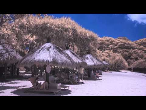 Infrared Photography: Nusa Dua in Gold