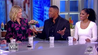 Michael Strahan, Sara Haines, and Keke Palmer Catch Up With the Co-Hosts   The View