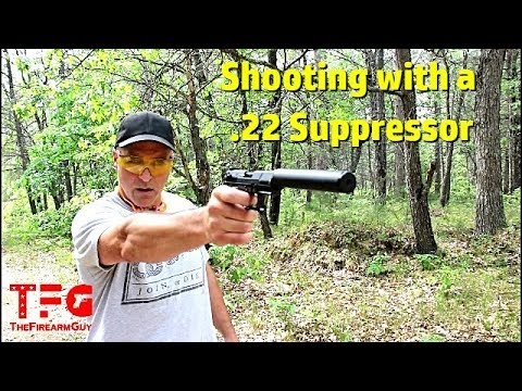 Sound Difference With A .22lr Suppressor - TheFireArmGuy