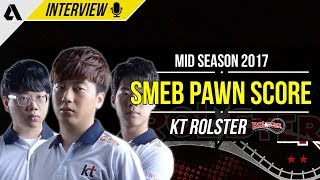 KT Rolster Smeb Pawn & Score on Success as a team, Fangirls, Favorite NA players &  More | Interview