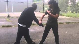 Training session with Novell (BlackTaoist) Bell on BaGua Tactics