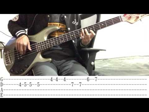 Ed Sheeran-Castle On The Hill Bass Cover+TAB