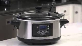 Set & Forget® 6 Qt  Programmable Slow Cooker 33969