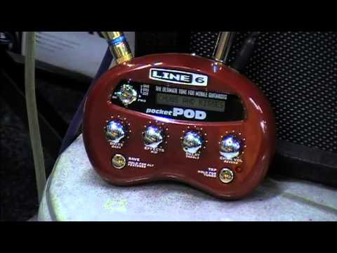 Line6 Pocket Pod Demo Youtube