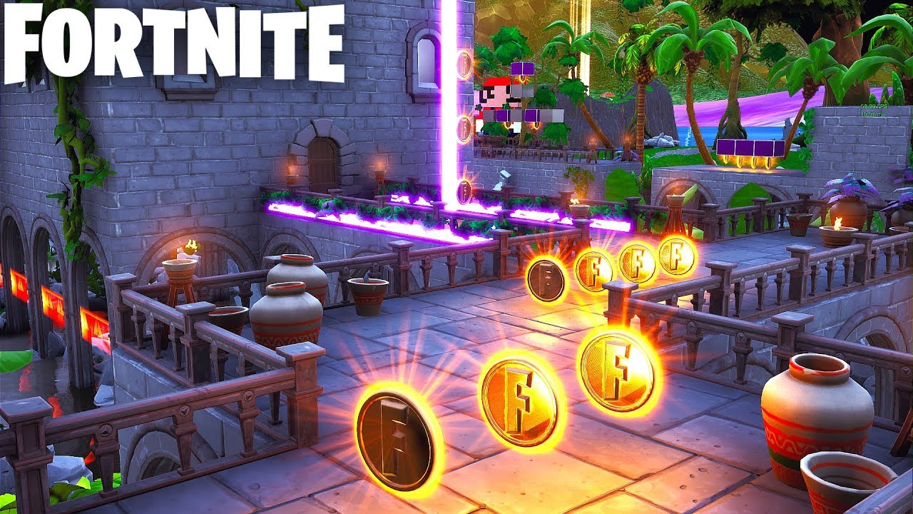 SUPER MARIO DELUXE in Fortnite Creative (With Code ...