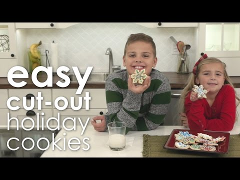 Easy Cut-Out Holiday Cookies