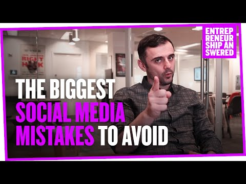 The Biggest Social Media Mistakes to Avoid