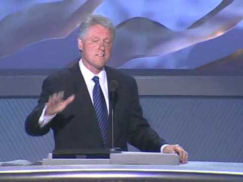 Video Recording of President William Jefferson Clinton Speaking at the 2000 Democratic National ...