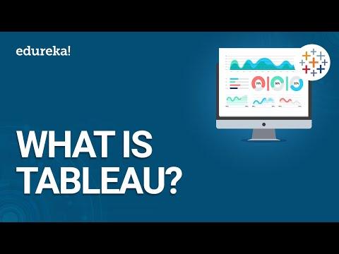 What is Tableau   Getting Started with Tableau   Tableau Certification Online Training   Edureka