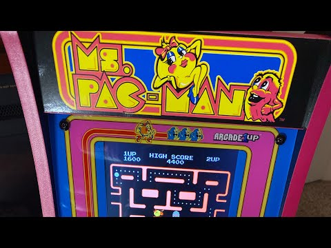 Arcade1UP/Ms.Pac Man from Sandi's Place