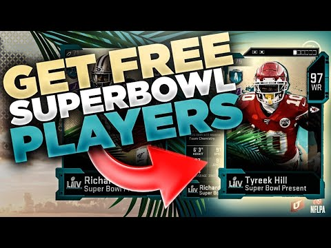 FAST METHOD FOR A FREE 96 & 97 OVERALL SUPER BOWL PLAYER!! | GET FREE CARDS MADDEN 20!!