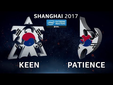 StarCraft 2 - KeeN vs. Patience (TvP) - IEM Shanghai 2017 - Open Qualifier #1 Qualifying Match