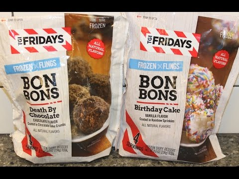 TGI Friday's Bon Bons: Death By Chocolate and Birthday Cake Review