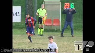 Serie D Girone E Tuttocuoio-Aquila Montevarchi 2-2