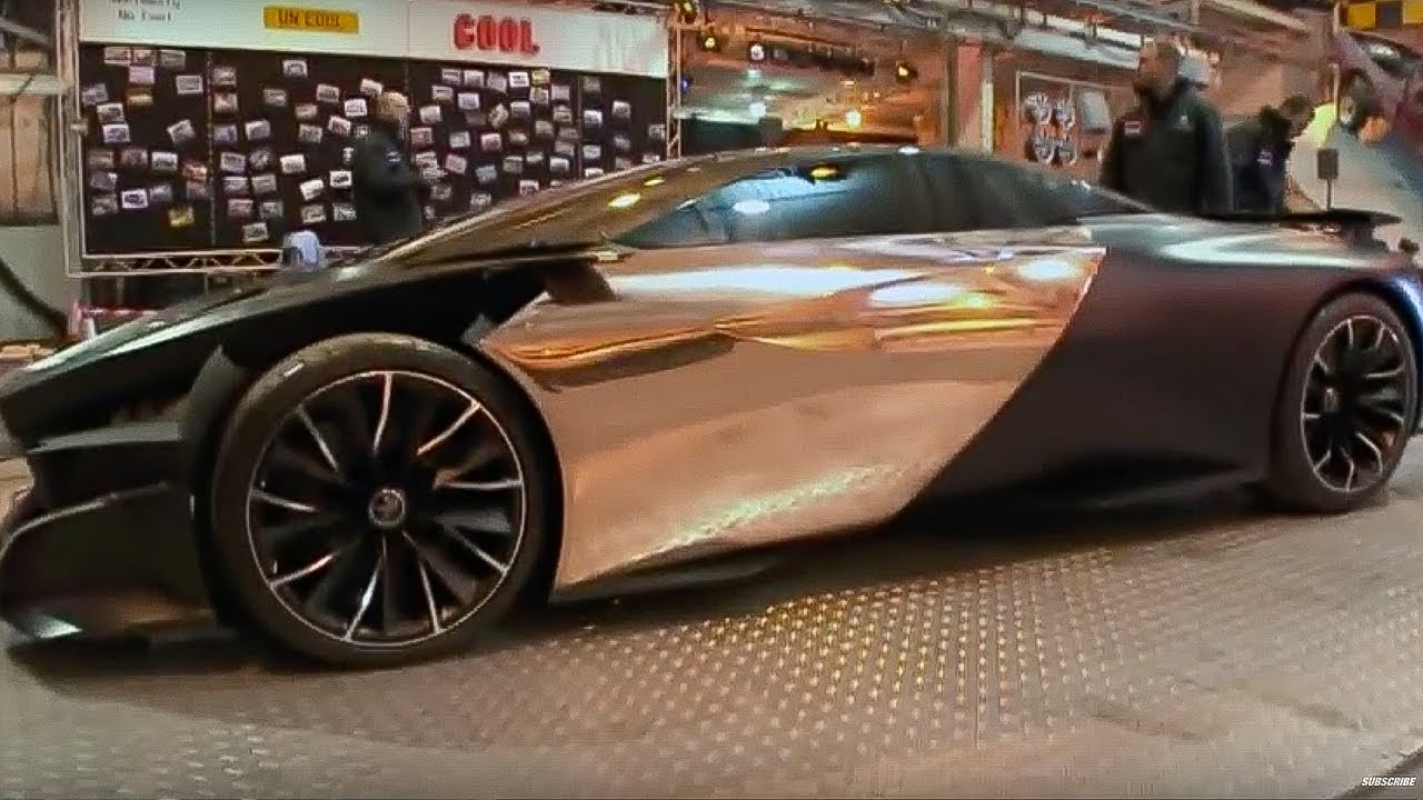 Peugeot Electric Car Top Gear