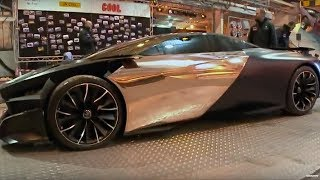 Peugeot ONYX | Behind the scenes | Top Gear