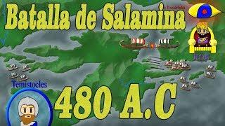 Batalla de Salamis (Salamina)(Batalla decisiva)-Greco-Persian WarsLa Astucia de Temistocles