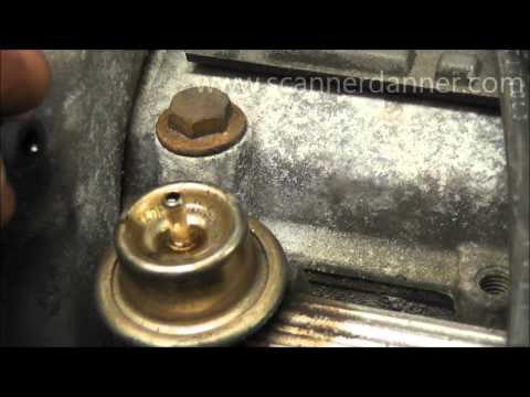 Leaking Fuel Pressure Regulator (symptoms and testing)