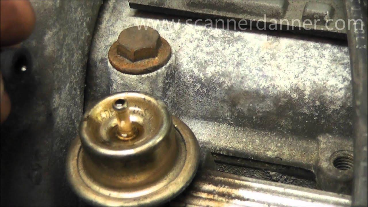 95 Dodge Caravan Wiring Diagram Leaking Fuel Pressure Regulator Symptoms And Testing