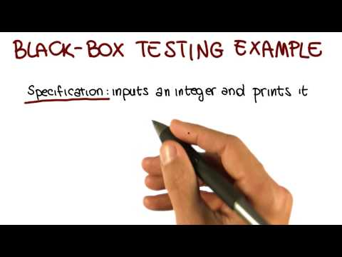 Black Box Testing Example - Georgia Tech - Software Development Process