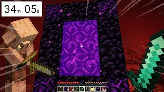 Minecraft, But It's A SPEEDRUN TO ESCAPE THE NETHER..