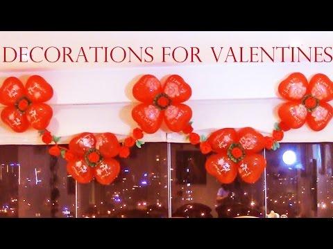 Como decorar con globos para fiestas- Best ideas for Valentines and Mother's Day