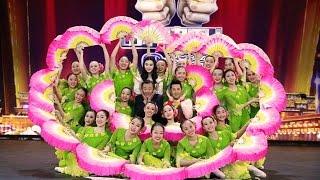 绽放在央视《出彩中国人》舞台上的茉莉花Jasmine Flower dance performe...