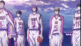Kuroko No Baske TV3 OP 1 Баскетбол Куроко 3 сезон 1 опенинг