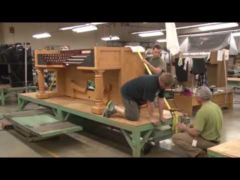 Allen Organ Special Project - Curved French Terrace Organ Part 4
