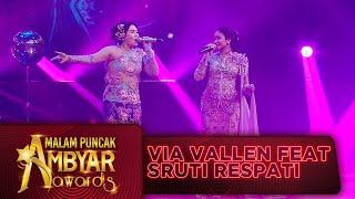 Download lagu DUET CIAMIK! Via Vallen feat Sruti Respati [MUNDUR ALON ALON] - Ambyar Awards 2020 (28/8)