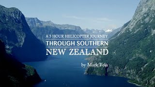 3 hours in a helicopter flying around Southern New Zealand with a EPIC in a SHOTOVER.