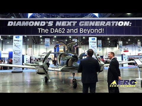 Aero-TV: Diamond's Next Generation – The DA62 and Beyond!