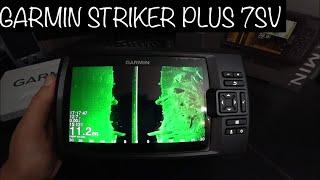 Обзор моих настроек эхолота Garmin Striker Plus 7SV