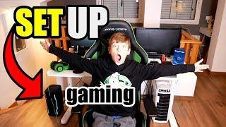 los mejores set-up gamer