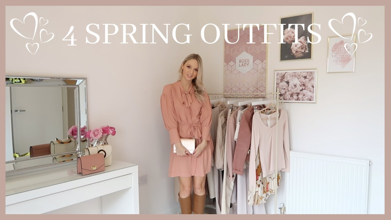 [VIDEO] - FOUR OUTFITS FOR SPRING // SPRING STYLE 2019 // April's London Style Diary 4