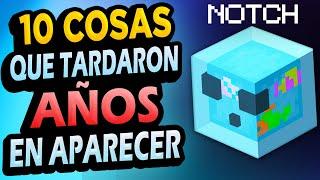 ✅ 10 Cosas de Minecraft Que Tardaron AÑOS EN APARECER!! #2