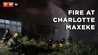 Charlotte Maxeke Academic Hospital in Johannesburg has been shut down for seven days. This after a fire broke out on 16 April 2021 that kept emergency services on their toes for almost 24 hours. Gauteng Premier David Makhura made the announcement while on an insight inspection on 17 April 2021.  #FireAtCharlotteMaxeke #CharlotteMaxekeHospital #DavidMakhura #Gauteng