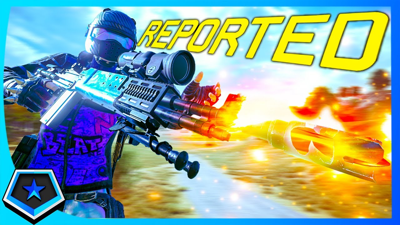 he reported me...after i sprayed him with MK14 6X