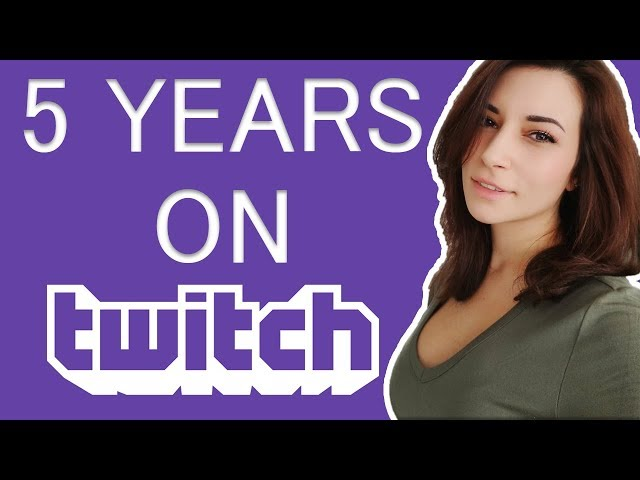 5TH YEAR ANNIVERSARY ON TWITCH!