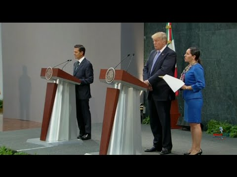 Full: Donald Trump and Mexican President Nieto Hold Press Conference 8/31/16