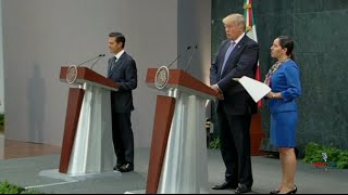 Donald Trump and Mexican President Nieto Hold Press Conference 8/31/16