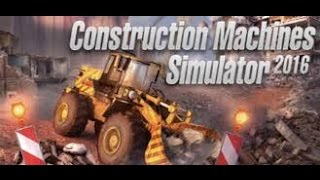 Como Instalar  Construction Machines Simulator 2016