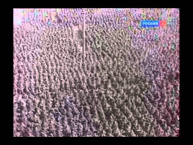 Конвоирование немцев через Москву 17 июля 1944 года